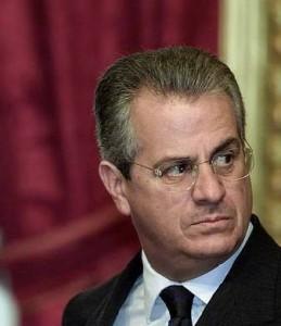 Claudio Scajola primo piano
