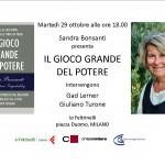 IL GIOCO GRANDE MILANO 29.10.13