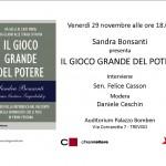 IL GIOCO GRANDE TREVISO 29.11.13