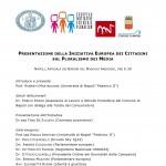 Pluralismo Media, 2Dic h9.30 Maschio Angioino