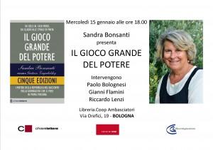 IL GIOCO GRANDE BOLOGNA 15.01.14
