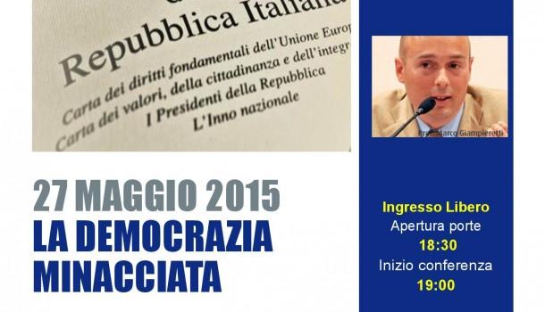 """Seminario """"La democrazia minacciata"""""""
