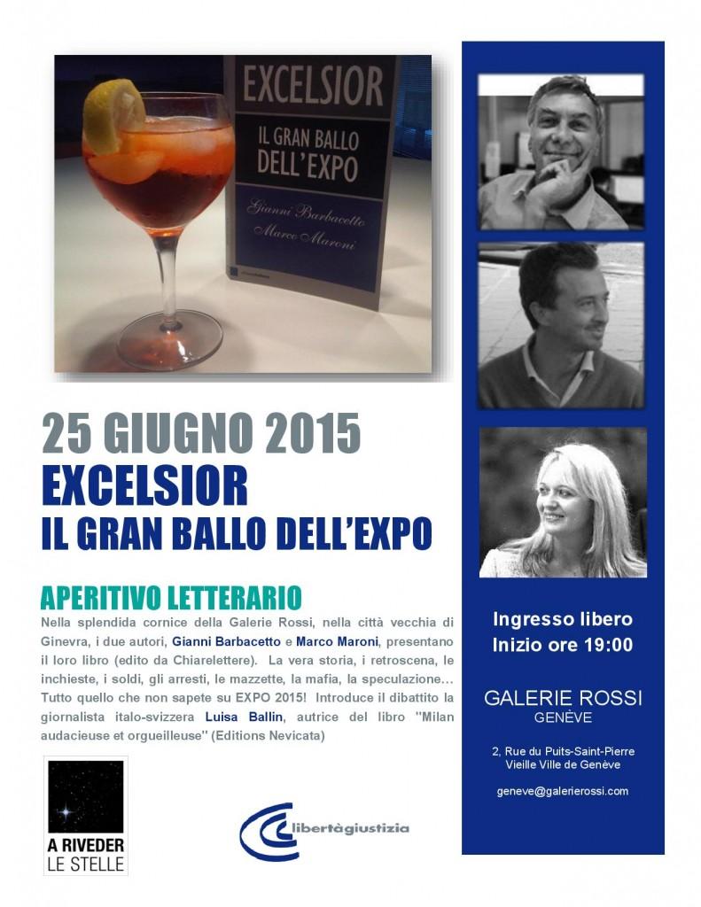 Excelsior - Aperitivo Letterario - Ginevra 25 giugno 2015 - volantino-page-001