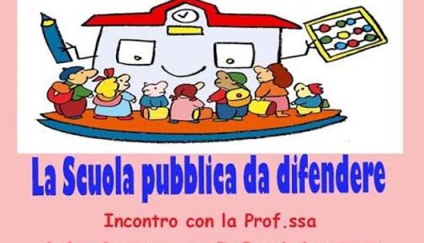La scuola pubblica da difendere