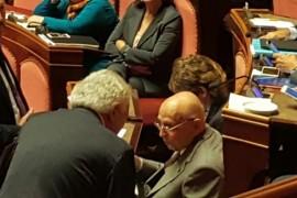 Napolitano e Verdini: non ci fate paura