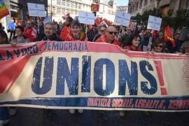 """Landini a Renzi: """"Manovra sbagliata, la devi cambiare"""". Manifestazione del 21 a Roma"""