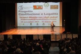 Terza edizione del 'Progetto Costituzione e Legalità '15-'16′ conclusa con successo