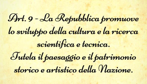 E' emergenza per la cultura: tutti a Roma il 7 maggio
