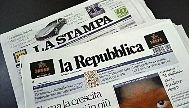 Il potere 'pallido' dei giornali/Stampa e Repubblica, concentrazioni fuori legge