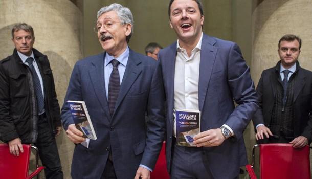D'Alema a Canossa e il Jobs Act nel referendum