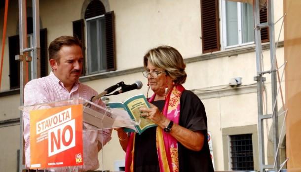 """Firenze: La Sinistra per il No, """"Faremo vedere a Renzi di chi è questa città"""""""