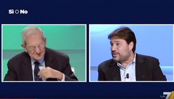 Luciano Violante–Tomaso Montanari /SI e NO del 14 ottobre 2016