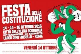 Roma/Festa della Costituzione con dibattiti, musica, sport e spettacolo per dire No