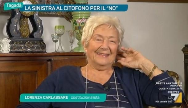 Lorenza Carlassare – Tagadà LA 7 – 24 Ottobre 2016