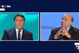Dibattito Referendum Si o No – Matteo Renzi vs Gustavo Zagrebelsky – 30 Settembre LA7