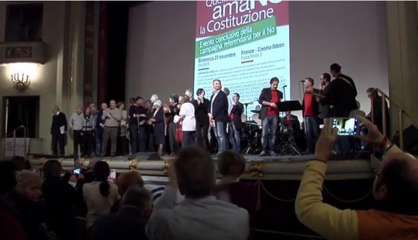 Quelli che amaNO la Costituzione, Firenze 27 novembre