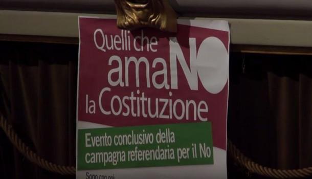 Diretta chiusura della campagna referendaria per il NO – 27/11/16 al Cinema Odeon Firenze