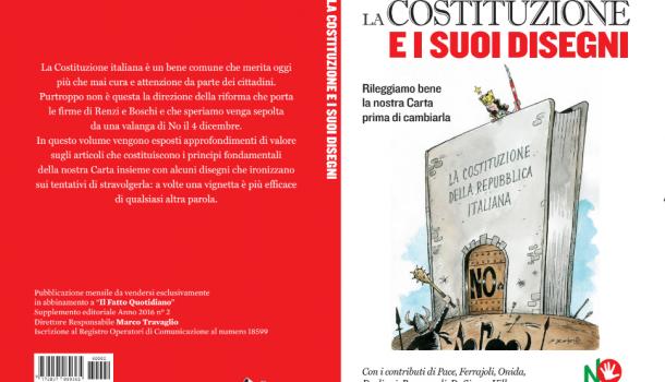 """""""I disegni della Costituzione"""" dal 3 novembre in edicola con Il Fatto Quotidiano"""