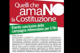 Firenze – Quelli che Amano la Costituzione 27 Novembre
