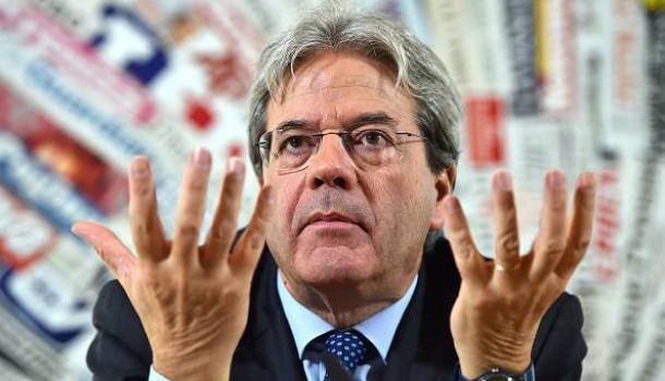 Il governo protempore del proconsole Gentiloni, il facilitatore