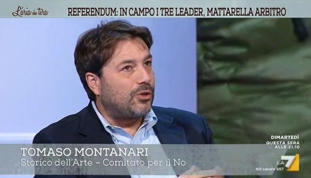 Tomaso Montanari a L'Aria che tira LA7 – 'Riforma scritta da incompetenti' – 29/11/16