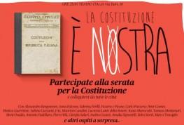 """Diretta Streaming: """"La Costituzione è NOstra"""" – Roma"""