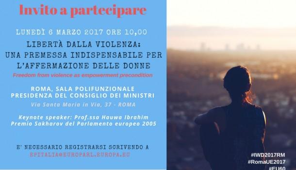Libertà dalla violenza: premessa per empowerment femminile