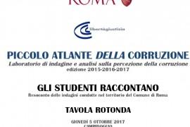 Piccolo Atlante della Corruzione – Gli studenti raccontano