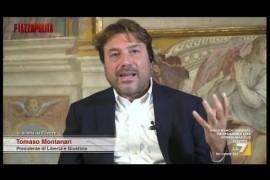 Tomaso Montanari: serve un 4° Polo a Sinistra – ASSINISTRA.it – Piazzapulita, 05.10.2017