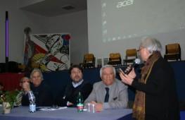 """Campania/Tomaso Montanari nei Licei """"Perito"""" e """"Levi"""" di Eboli"""