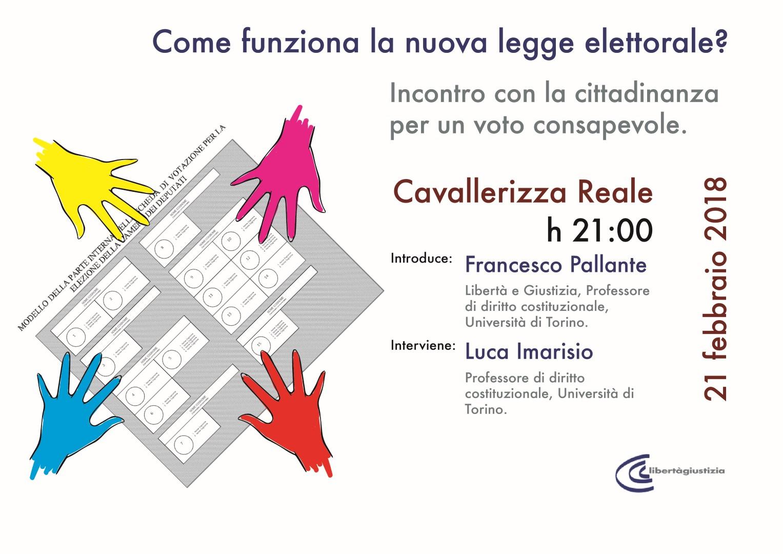 LeG Torino. 21 Febbraio. Locandina (Large)