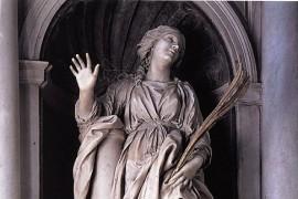 La Santa Bibiana di Bernini mutilata durante il trasloco