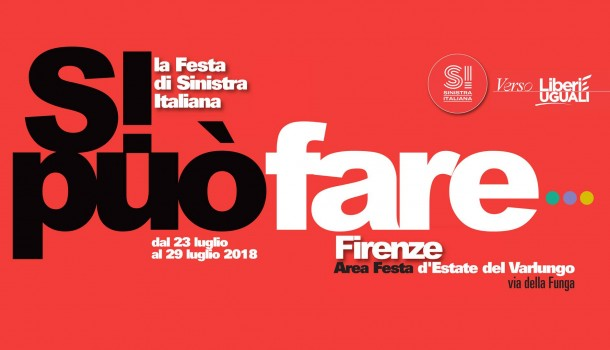 Firenze, 'Si può fare': festa Si per Leu con Fratoianni, Landini, Cofferati