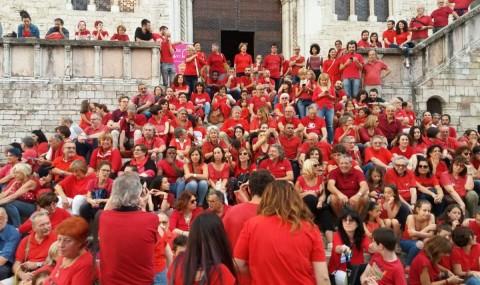 Solidarietà per le magliette rosse