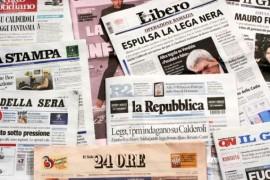 Governo/Giornali: Pericolosi colpi di testate
