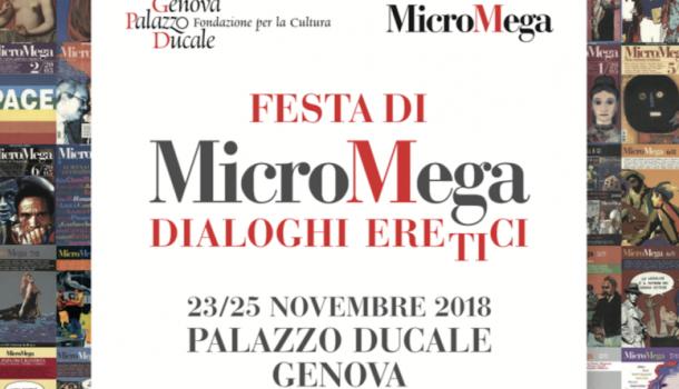 """A Genova i """"Dialoghi eretici"""", dal 23 al 25 novembre"""