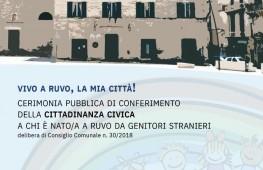 Puglia/A Ruvo il 19 cerimonia di conferimento della cittadinanza civica ai bambini nati da immigrati