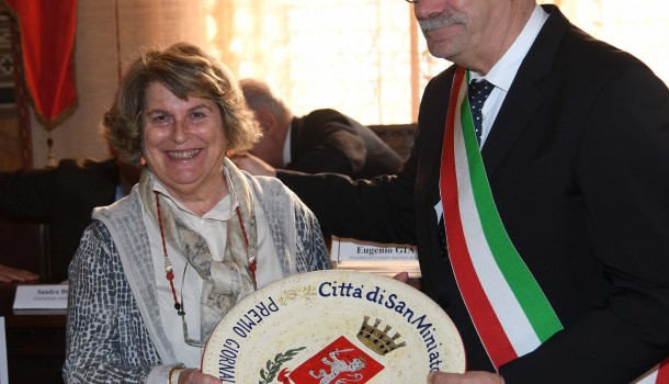 A Sandra Bonsanti il premio di giornalismo Ghinetti