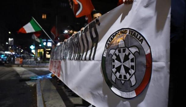 La sede dei fascisti di Avanguardia Nazionale è in uno stabile del Comune di Roma