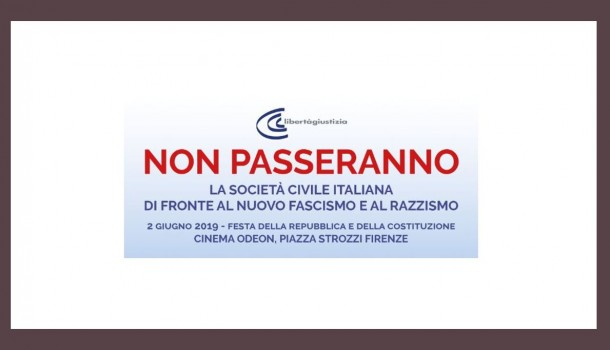 """Firenze – """"Non passeranno""""  Festa della repubblica e della Costituzione LeG"""