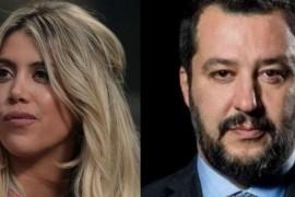 Due grandi libertari, Matteo Salvini e Wanda Nara
