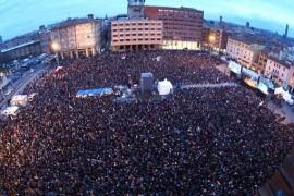 """Bologna, l'orgoglio della Sardina: """"Siamo più di 40mila"""""""