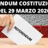 Referendum, con l'emergenza sanitaria non si può votare il 29 marzo