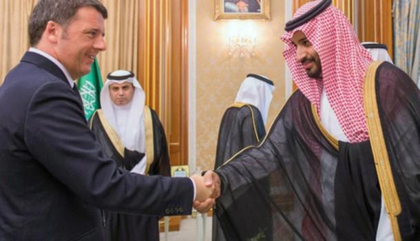 Renzi, uno spot al regime di Bin Salman