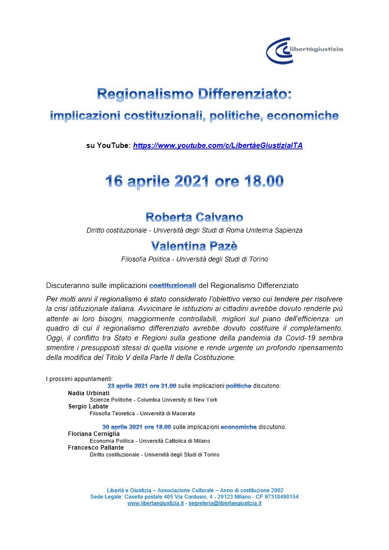 Webinar Reg_Diff - Locandina webinar1 costituzionali