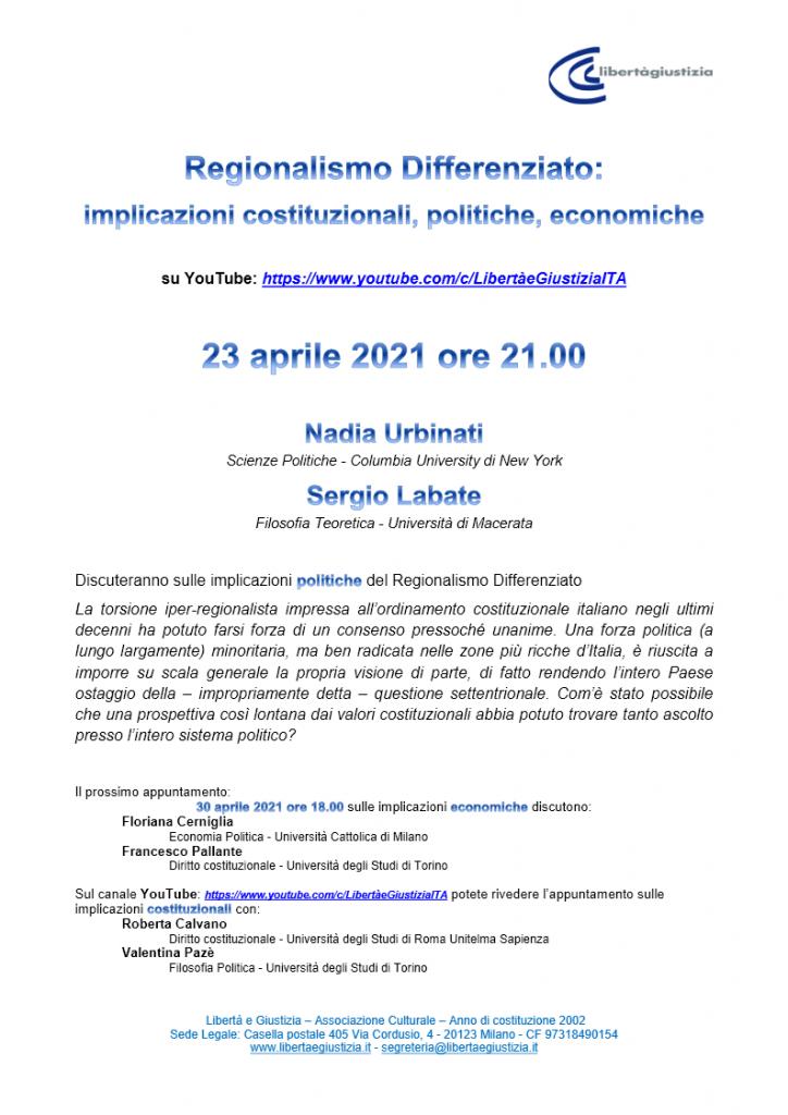 Webinar Reg_Diff - Locandina webinar2 politiche