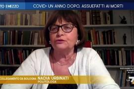 """LA 7, Otto e mezzo 9 mar 21 – Urbinati su Renzi: """"Deve spiegare agli italiani perché è un senatore"""""""