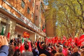 Il fascismo è un pericolo reale, solidarietà a Cgil e a Landini