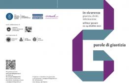 Il Festival 'Parole di Giustizia 2021′ a Urbino: In-sicurezza, giustizia, diritti, informazione