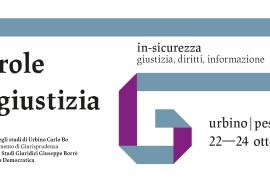 Urbino: Parole di Giustizia 2021